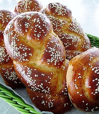chorek (armenian sweet bread)