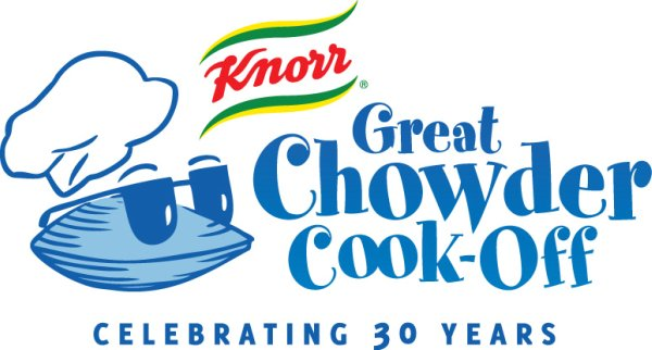 a logo that says Knorr Great Chowder Cook-Off Celebrating 30 Years