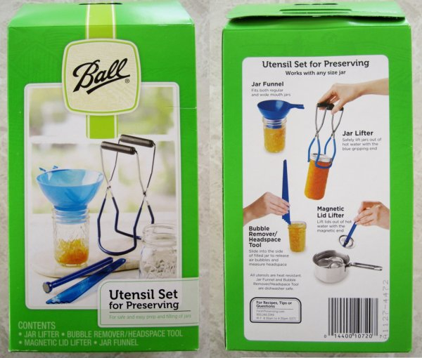 a green package of Ball Utensil Set for Preserving