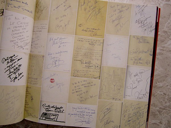 a collage of papers with writing on them