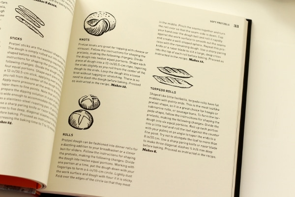 Excerpt from Pretzel Making at Home cookbook