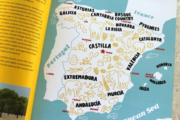 a map of Spain