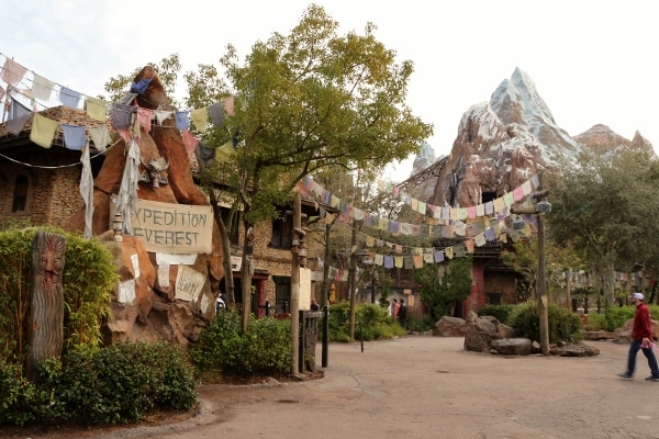 exterior of Expedition Everest at Disney\'s Animal Kingdom theme park