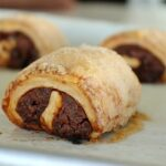 Date and chocolate rugelach