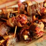 Bacon-Wrapped Dates Stuffed with Goat Cheese