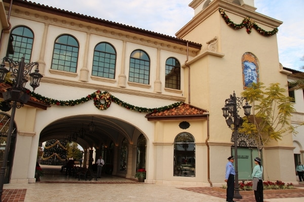 view of an entrance to Disney Springs