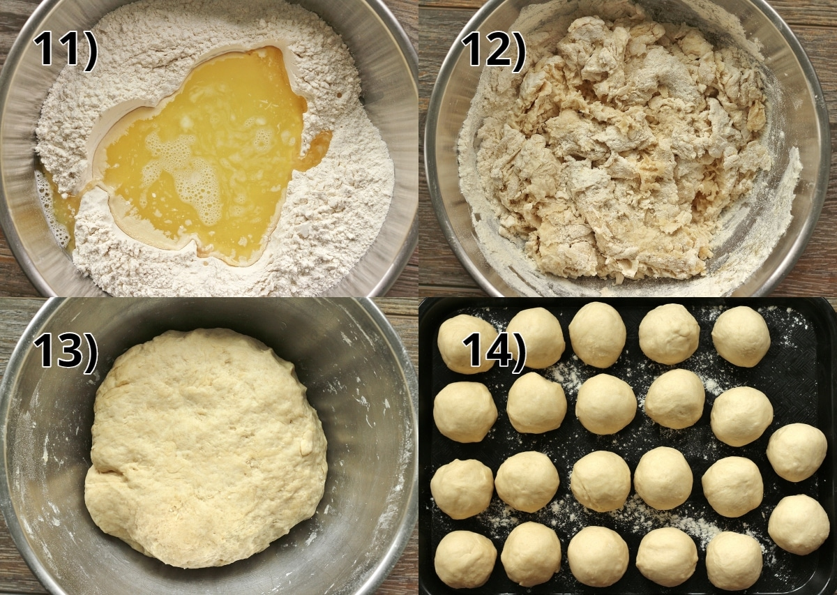 step by step photos of how to make empanada dough
