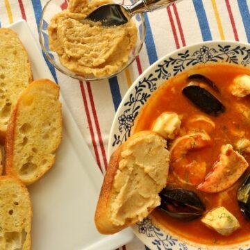 Bouillabaise (Provencal fish stew)