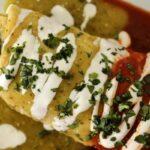 Chicken burritos mojados