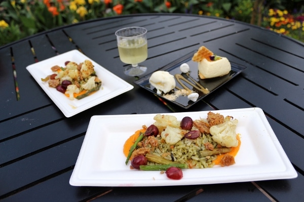 plates of food from The Honey Bee-stro on a table