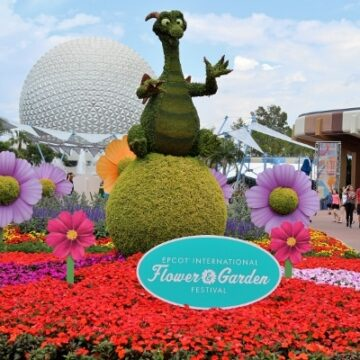 Topiaries at Epcot Flower and Garden Festival at Disney World