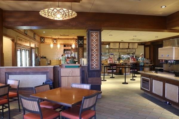 interior of Capt. Cook\'s at Disney\'s Polynesian Village Resort