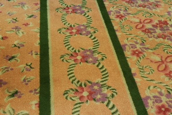 Hidden Mickeys in a carpet