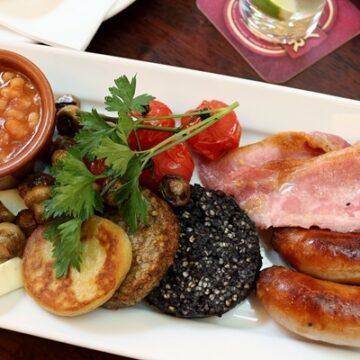 Full Irish Breakfast at Bank on College Green