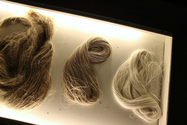 various types of cloth fibers