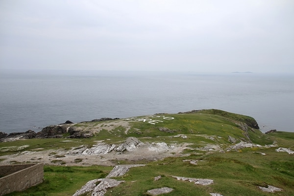 a view from Malin Head, Ireland