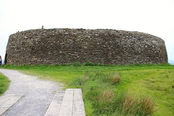a round stone fort