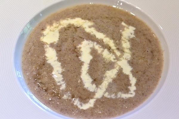 A close up of a bowl of porridge