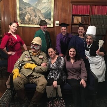 The cast of Murder at the Mansion Clue Live