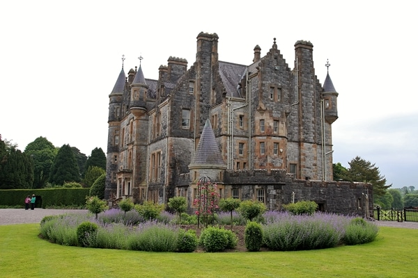 Blarney House surrounded by gardens