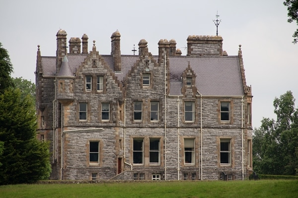 rear view of Blarney House