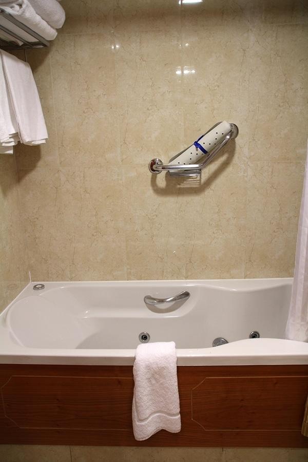 A large bathtub