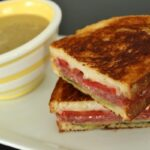 Grilled cheese with soup