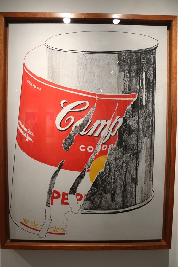 another Campbell\'s Soup Can painting