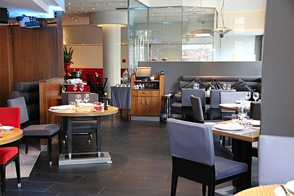 a modern looking restaurant dining room