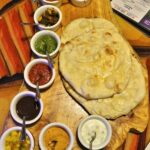 Homemade Naan & Sanaa Dipping Sauces