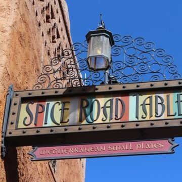 Spice Road Table sign at Walt Disney World