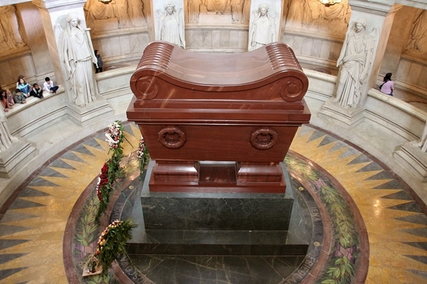 view of Napoleon\'s tomb