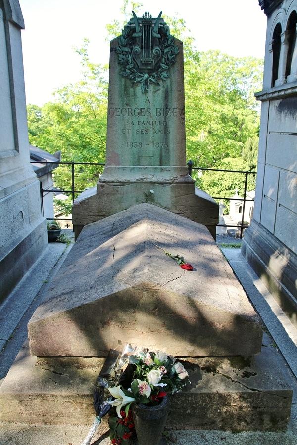 Georges Bizet\'s grave