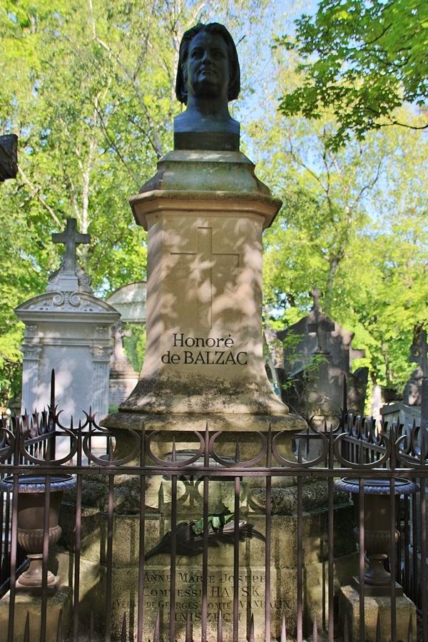Honore de Balzac\'s grave
