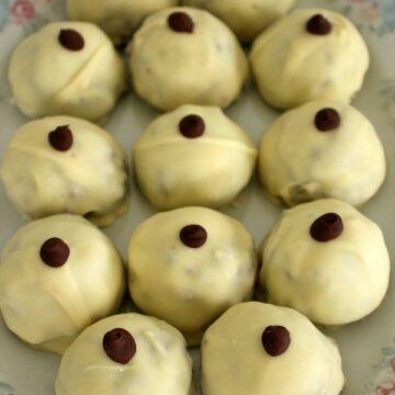 A platter of nipples of venus confections