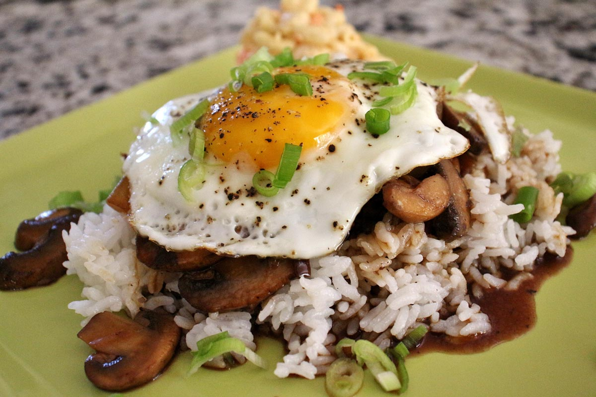 Hawaiian Loco Moco Hamburger Steak With Gravy Mission Food Adventure