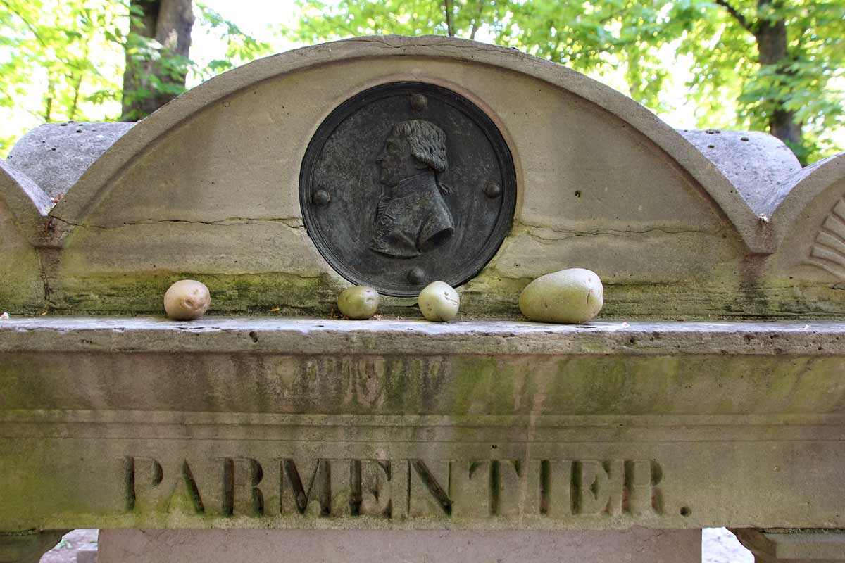 Parmentier's grave in Paris