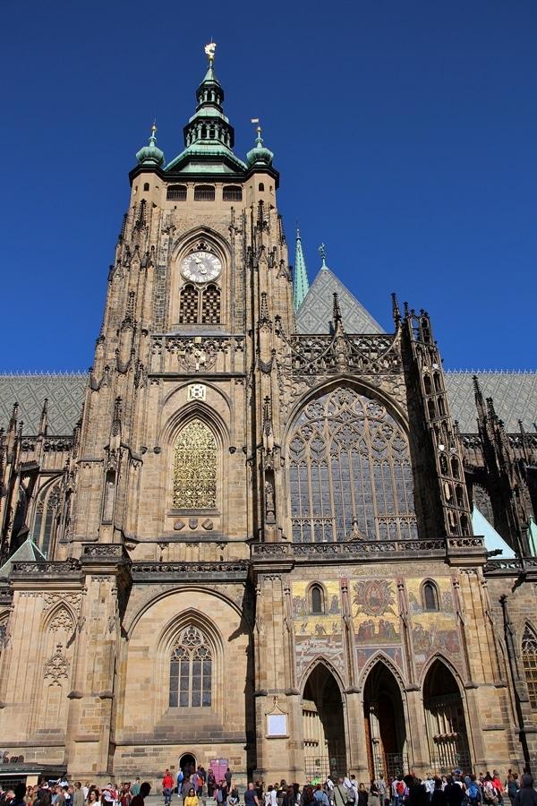 a large stone church
