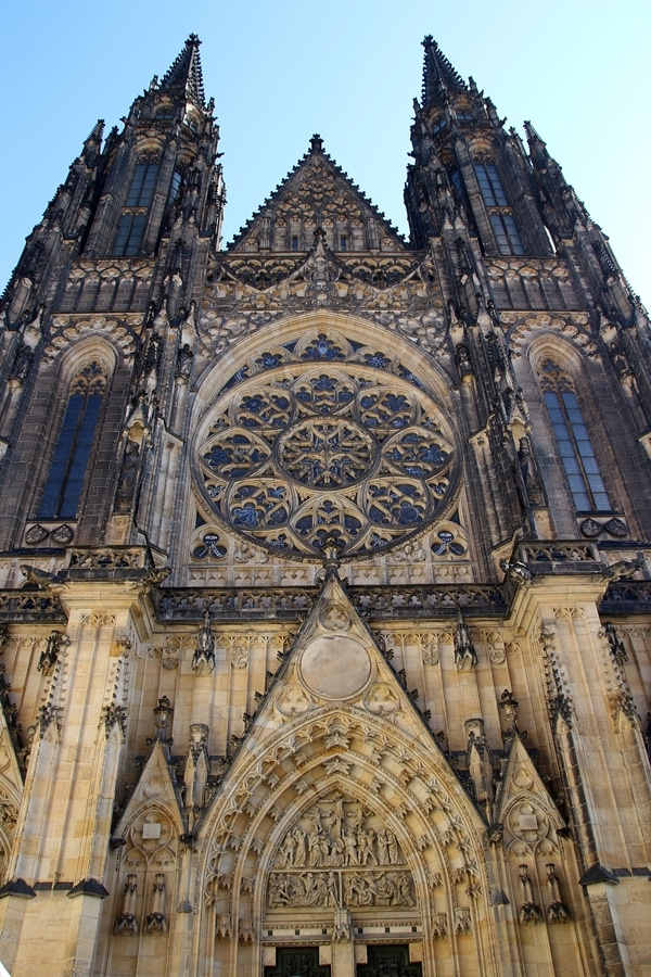 a large old stone cathedral