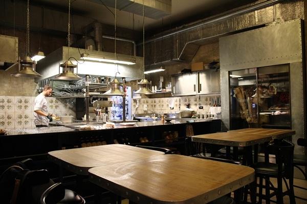 interior of a restaurant in Prague