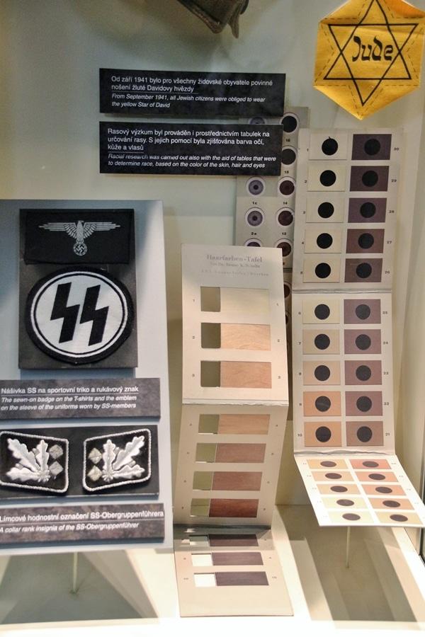 WWII museum exhibit