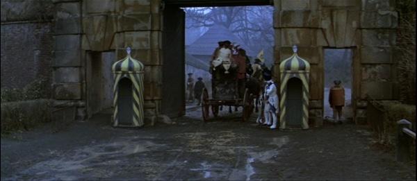 screenshot from the film Amadeus