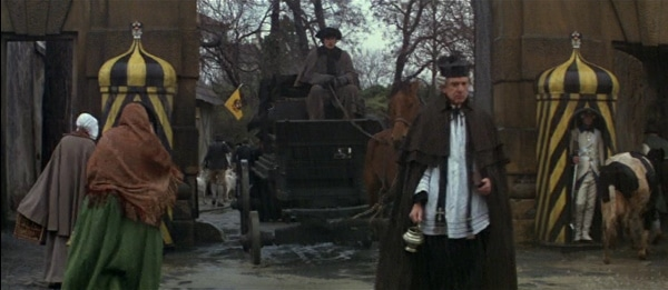 screenshot from the funeral scene in the movie Amadeus