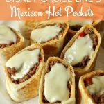 a platter of homemade Mexican hot pockets
