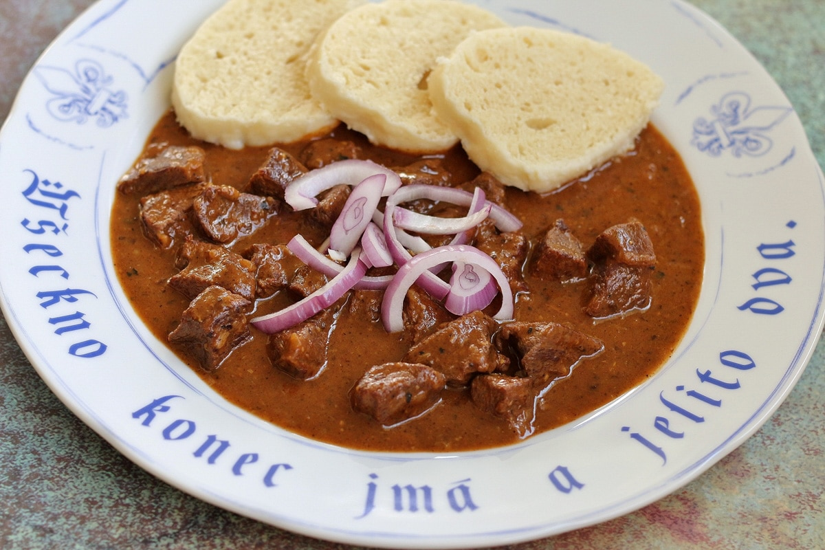Hovezi Gulas Czech Beef Goulash Mission Food Adventure